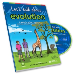 Book Review: Let's talk about evolution (Horlock, J. Naylor, S. and Moules, J.)